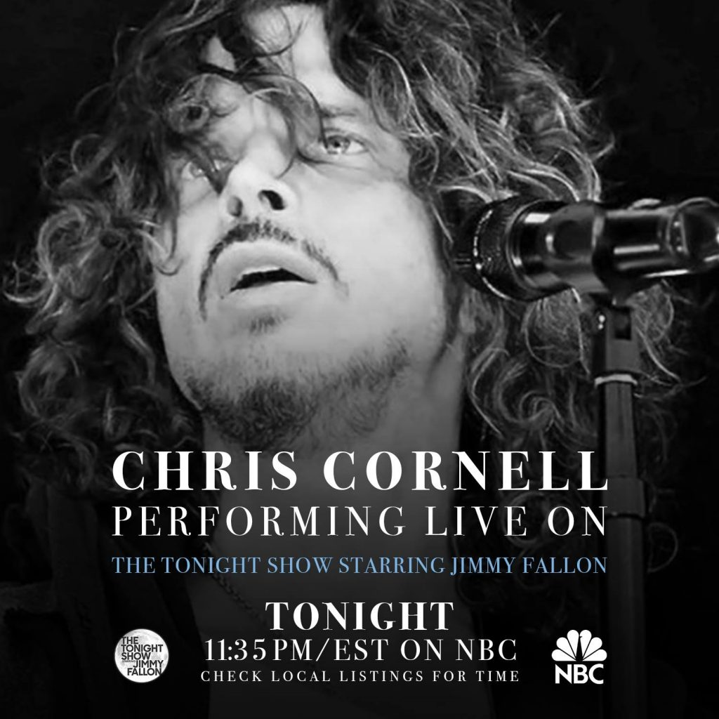 News chris cornell watch chris and matt cameron perform the promise live on the tonight show starring jimmy fallon tune in tonight at 1135pmest on nbc kristyandbryce Images